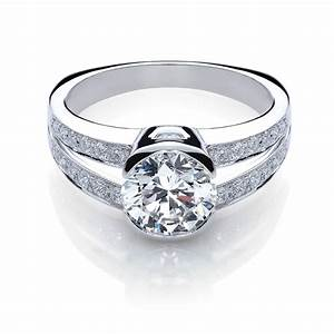 Custom engagement rings cary jm edwards jewelry cary for Diamond wedding ring images