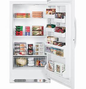 Ge U00ae 17 1 Cu  Ft  Manual Defrost Upright Freezer