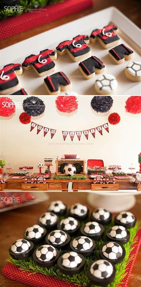 Kara's Party Ideas Soccer Themed Boy Birthday Party