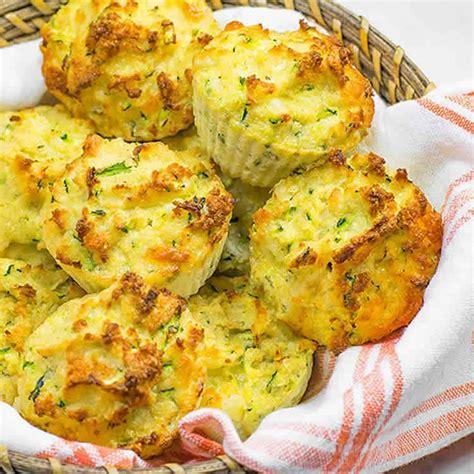 muffins aux courgettes  cheddar au thermomix la