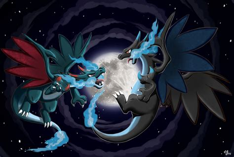 You can download the wallpaper and also use it for your desktop computer. Shiny Mega Charizard X Wallpapers - Top Free Shiny Mega Charizard X Backgrounds - WallpaperAccess
