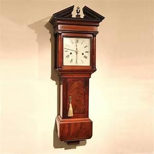 Rare, And, Good, Hooded, U0026, 39, Trunk, U0026, 39, Wall, Clock, For, Sale