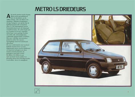 Austin Mini/Metro brochure