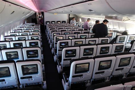 Checking Out Air New Zealand's New Interior On Their First