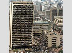 August 1998 Following falseflag bombings against US