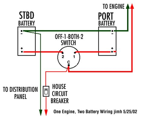 wiring diagram for battery switch classic whaler boston whaler reference dual engine dual