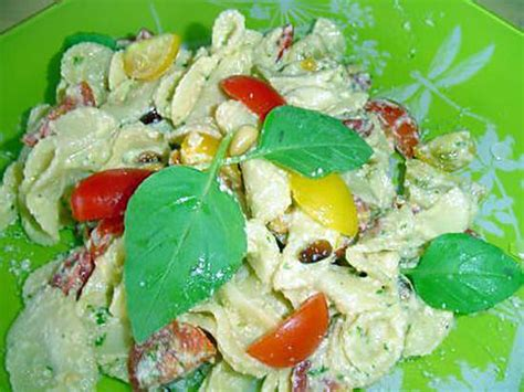 recette de salade de p 226 tes au basilic