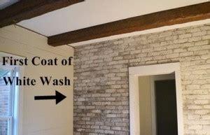 white wash  slurry coat  brick hearth