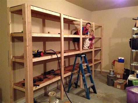 garage shelving plans diy   garage storage
