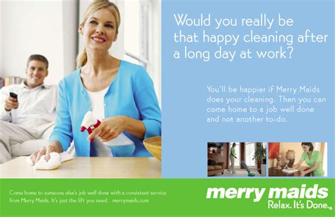 cleaning services postcards  merry maids tampa fl