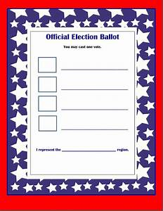 election ballot template free download elsevier social With free voting ballot template