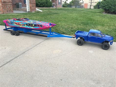 Traxxas Rc Boat Trailer traxxas m41 boat trailer build rcnitrotalk rc forum