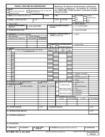 dd form 1351 2 mar 2008 travel voucher or tricare