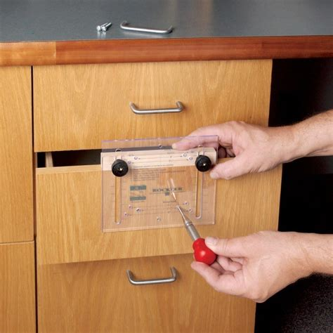 drilling jig for cabinet and drawer handles good cabinet hardware jig on drawer handle drill jig knobs