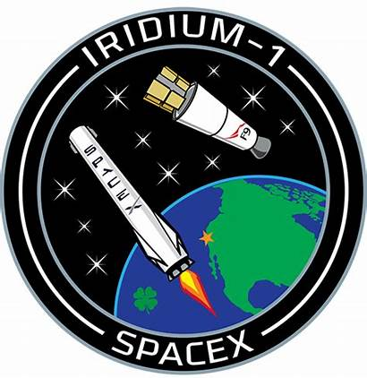 Patch Iridium Spacex Space Mission Launch Return