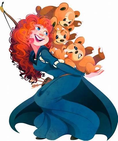 Merida Ariel Belle Disney Princess Jasmine Tiana