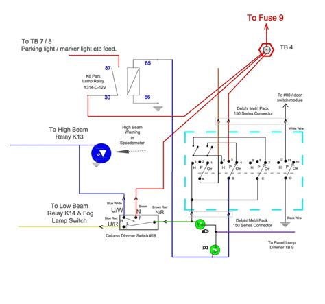 All 6 Part Rotory Way Switch Wiring Diagram by Triumph Spitfire Rebuild