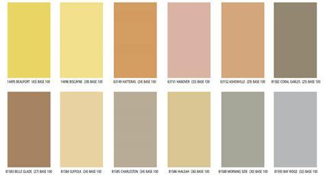 color charts lahabra standard colors premium colors parex