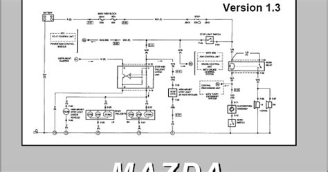 Mazda Electrical Wiring Diagram Workbook