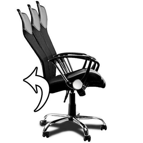 chaise de bureau ballon fauteuil chaise de bureau noir inclinable achat vente