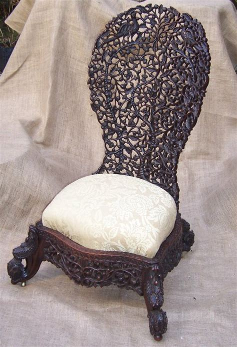carved anglo indian chair antiques atlas