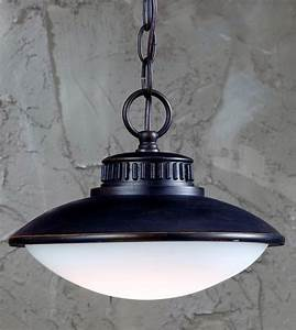 Mariner light bronze led outdoor pendant