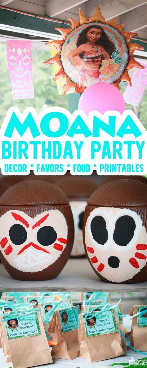 moana birthday party theme  kids