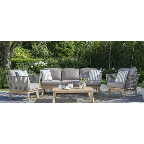 kettler adelaide lounging sofa set  coffee table