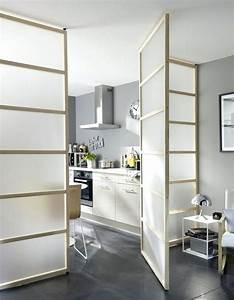 Panneau Separation : panneau separation piece meuble de separation de piece ~ Carolinahurricanesstore.com Idées de Décoration