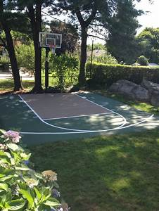 25 best ideas about basketball hoop on pinterest With outdoor basketball court template