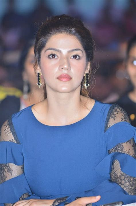 Latest Photos Of Mehreen Pirzada In Blue Dress - Actress Album