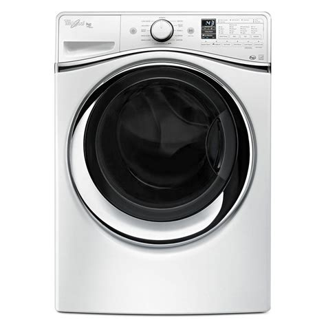 WFW95HEDW Whirlpool DUET® 45 Cu Ft Front Load Steam