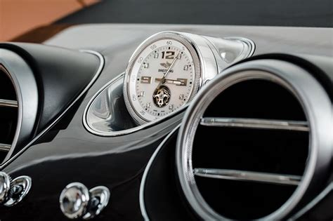 bentley breitling clock bentley bentayga 39 s breitling mulliner tourbillon clock is