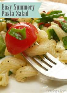 Summer Pasta Salad Easy Recipe