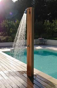 Douche Extérieure Pour Piscine : la douche ext rieure id ale pour votre bien tre ~ Edinachiropracticcenter.com Idées de Décoration