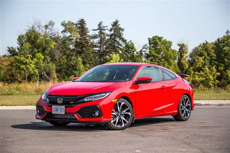 Honda Civic Coupe by Review 2017 Honda Civic Si Coupe Canadian Auto Review