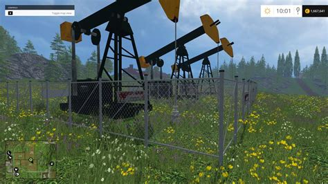 placeable oil derrick v1 ls15 farming simulator 2015