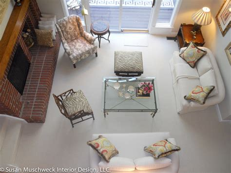 Living Room Birds Eye View by Bird S Eye View Of The Living Room From Loft Traditional