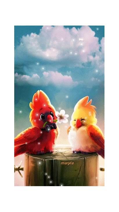Google Gifs Birds Super Maryla Amazing Animations
