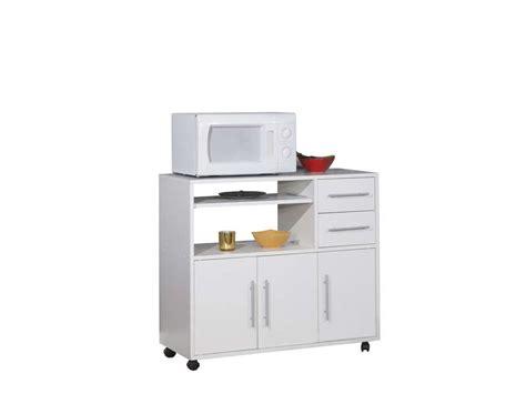 meuble de cuisine pour micro ondes desserte micro ondes pretty coloris blanc vente de meuble micro ondes et desserte conforama