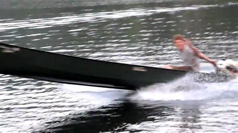 Old Town Sport Boat by Tiki Taylor Out On A 10hp Old Town Canoe Hd Youtube
