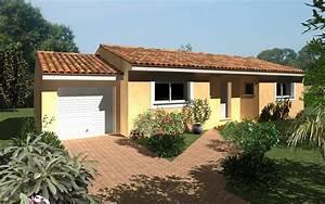 modele chantaco une maison simple et moderne maisons With construire ou acheter une maison