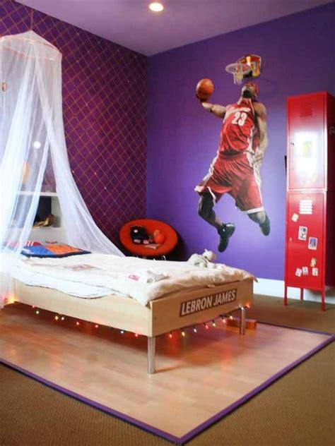chambre basket chambre deco basket