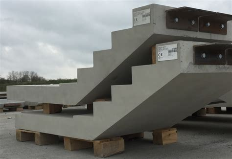 type  finish precast stairs   bourne business