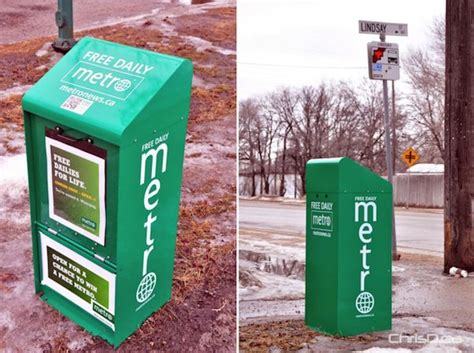 Metro News Boxes Showing Up on City Street Corners | ChrisD.ca