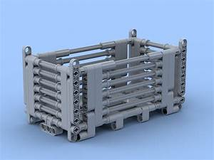 Lego Moc Mesh Container  Heavy Duty  By Huwi