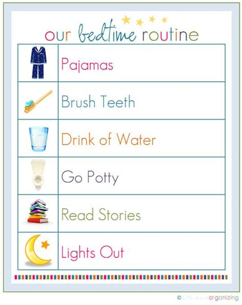 bedtime routine chart on schedule chart 617 | d6539b4fc1824ae56dd101e798f1ccce