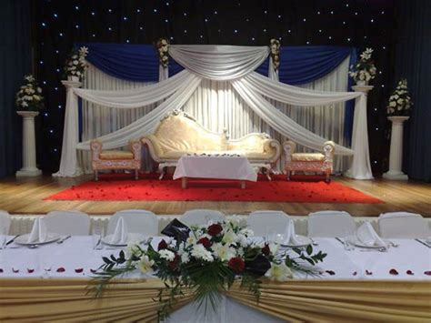 beautiful starlight background wedding stages decoration