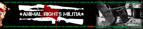 animal rights militia   step program  recover