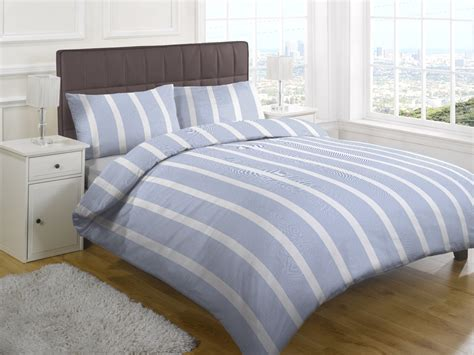 blue and white striped bedding blue and white striped
